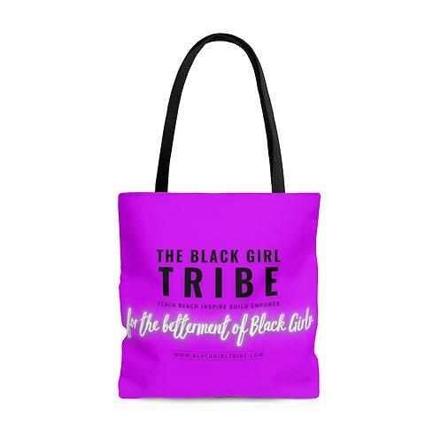 Passion Purple BGT Tote Bag