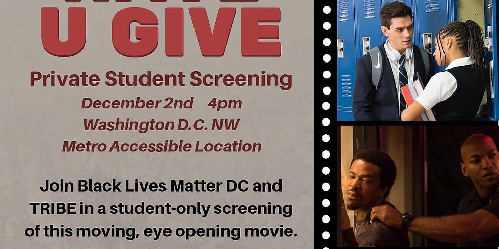 The Hate U Give Movie Screening