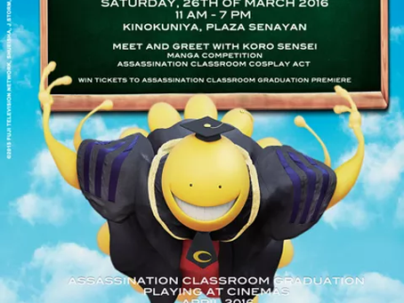 Assassination Classroom Day [press release]
