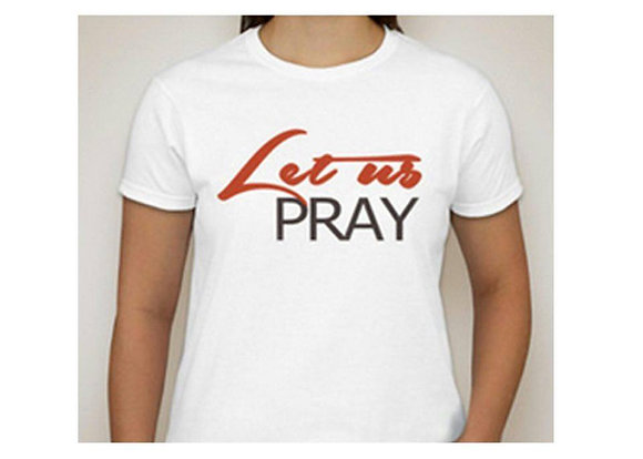 Let Us Pray: Tee