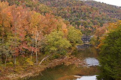 Buffalo River in the fall