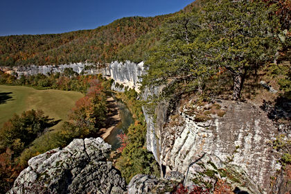 Roark Bluff on Buffalo River Arkansas