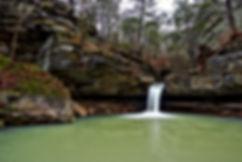 Broadwater Falls near Erbie Arkansas