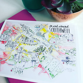 Southwell Map