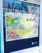 Newark shop window