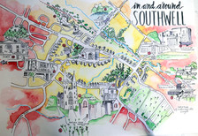 Southwell Map Tourism commission