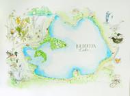 Balderton Lake Map