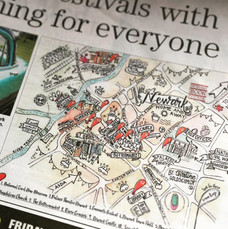 Newark Book Festival Map