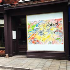 Newark Map Stodman Street