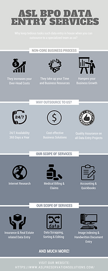Offline Data Entry Services | ASL BPO