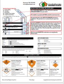 Water Damage Restoration Scope Sheet