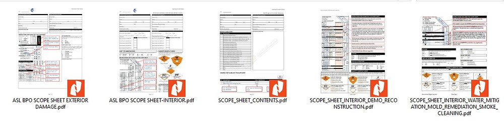 How to Download the Adjuster Scope Sheets | ASL BPO