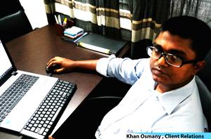 Khan Osmany, Client Relations, ASL BPO.