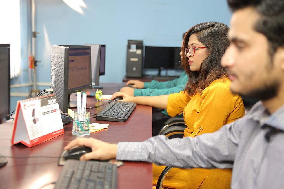 ASL BPO team working