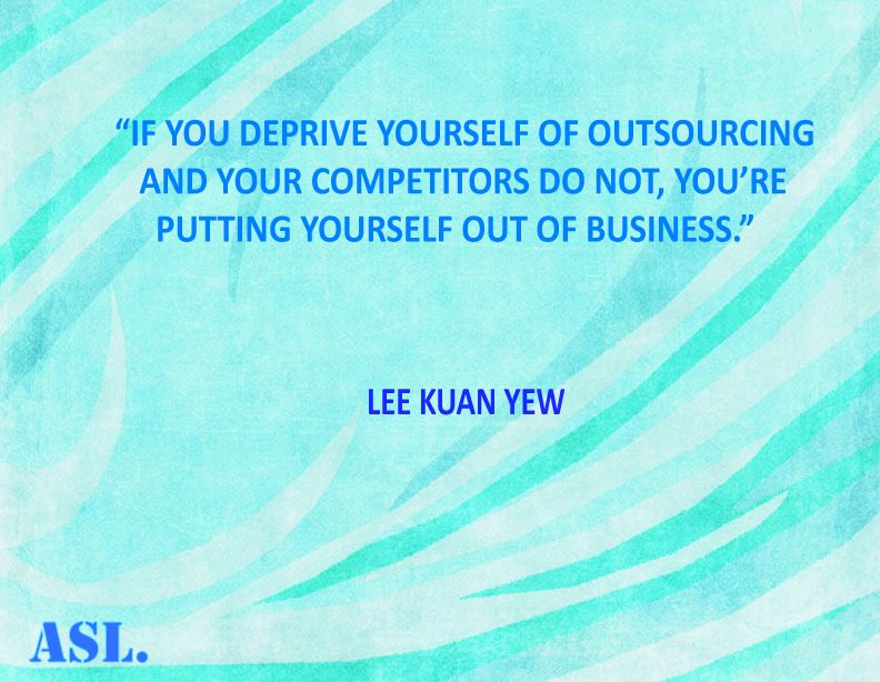 Quote on Outsourcing