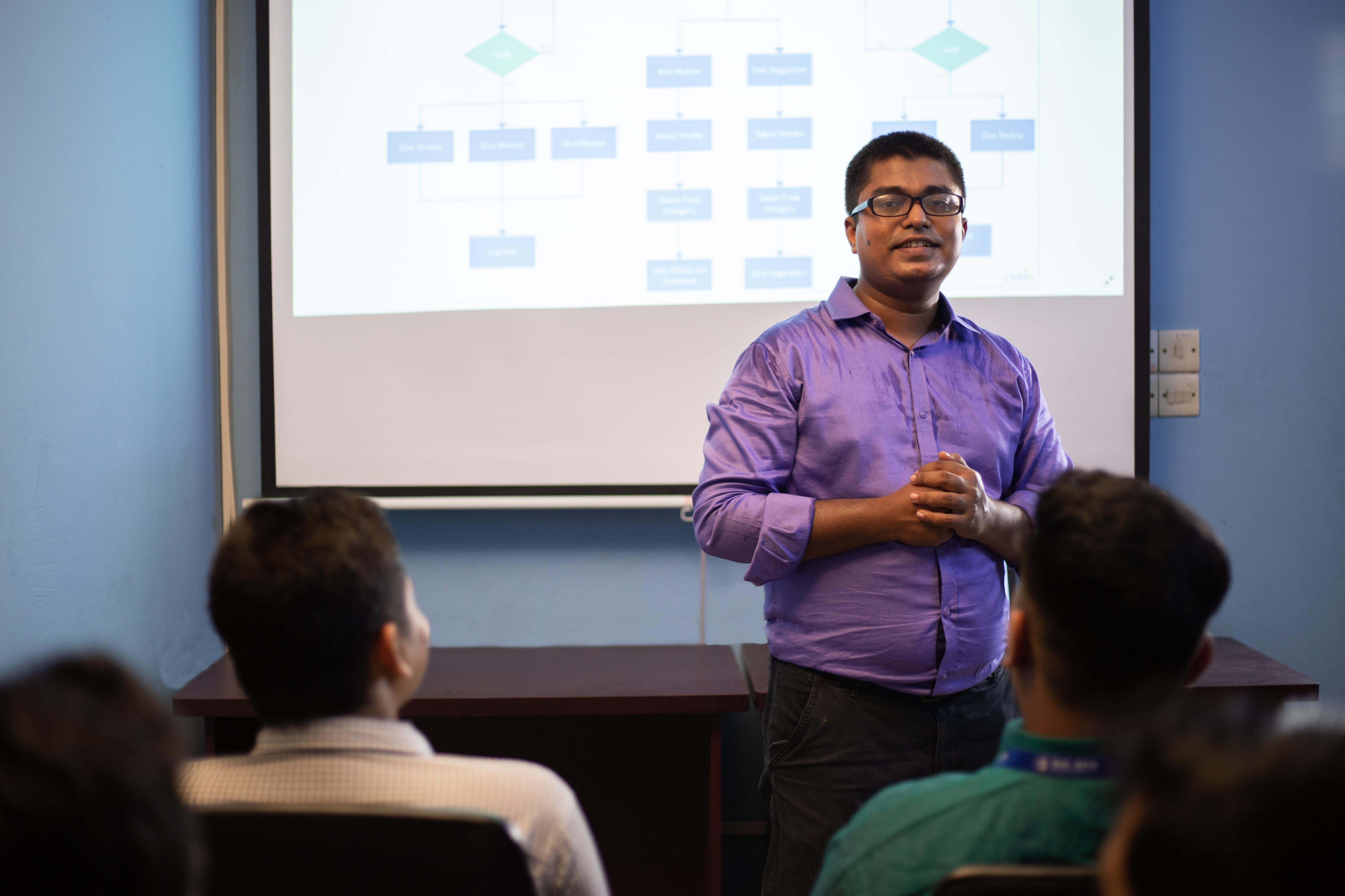 Khan Osmany Training Employees - ASL BPO