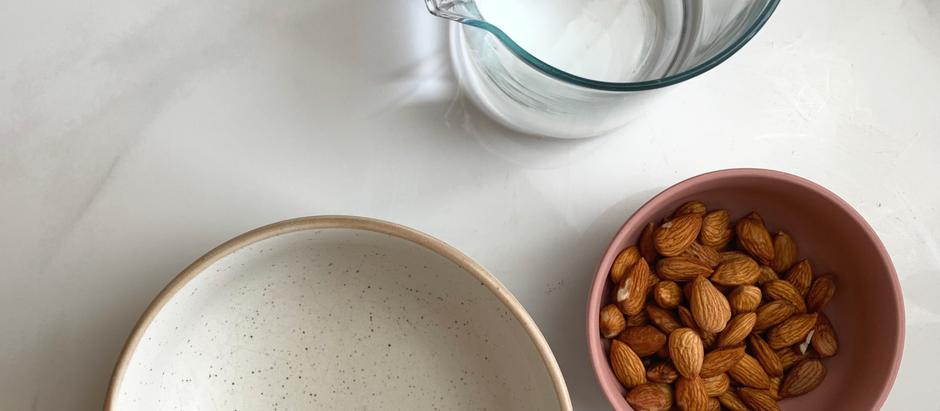 Home-made Almond Milk