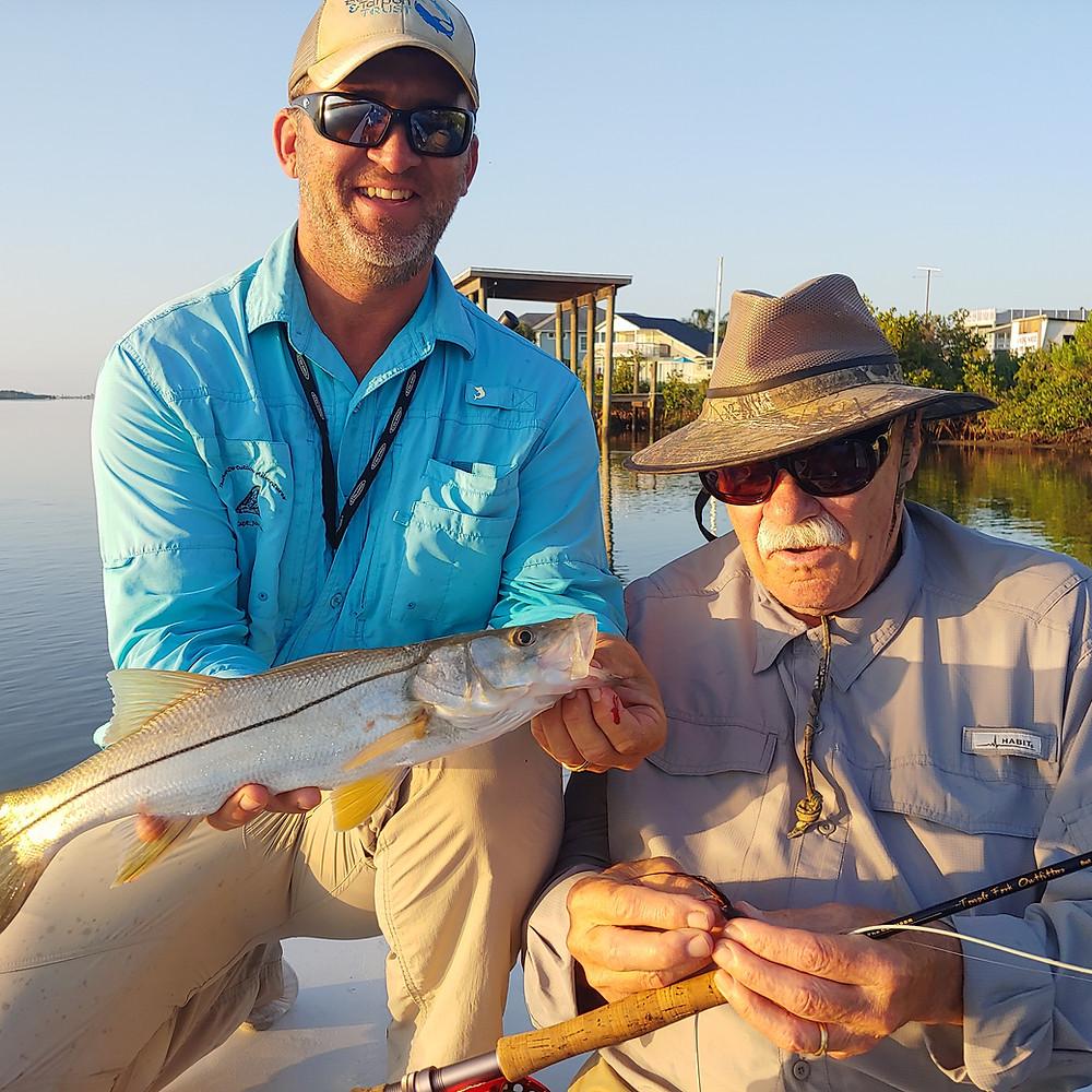 Bob Clouser|Snook on Fly|Snook|Florida