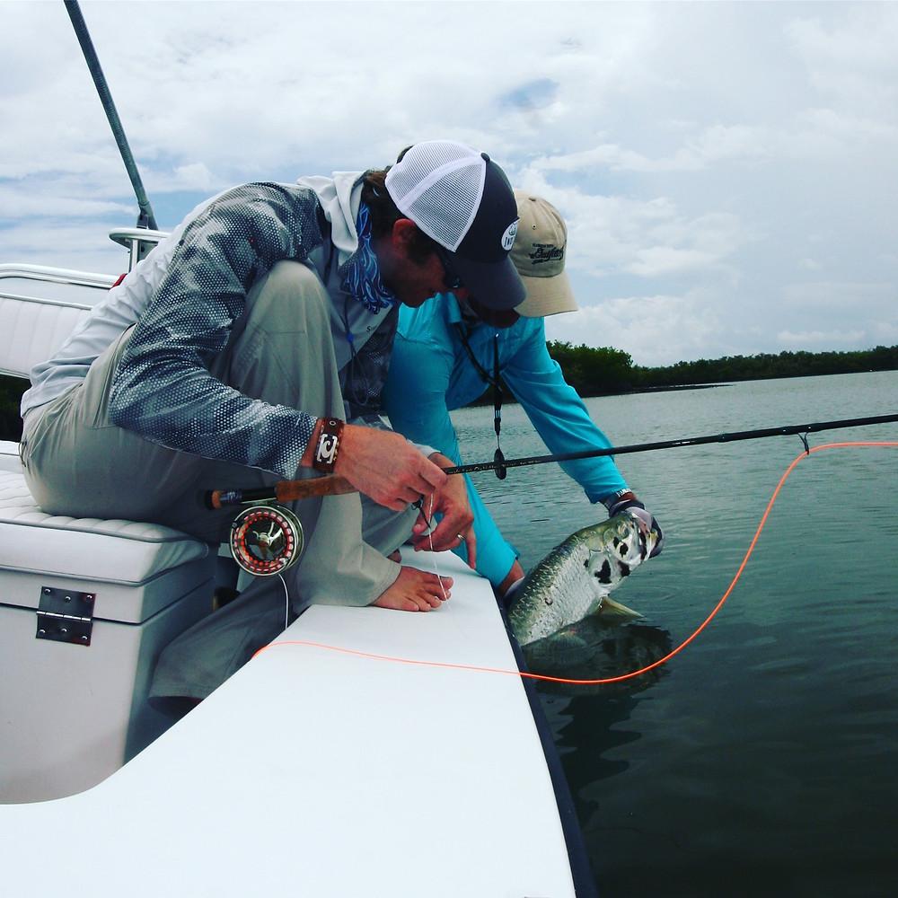 Captain John Tarr Fishing Charters|Tailhunter Outdoor Adventures|Florida|Tarpon on Fly