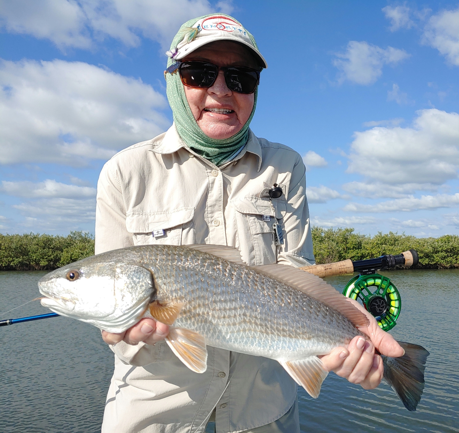 Redfish|Captain John Tarr|Tailhunter Outdoor Adventures