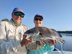 Black Drum|Captain John Tarr|Tailhunter Outdoor Adventures