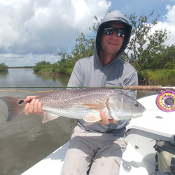 Captain John Tarr|Redfish on Fly