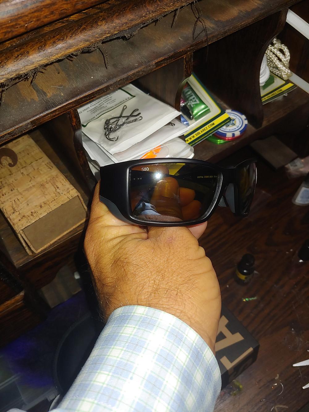 Costa Silver Sunrise Mirror Lens