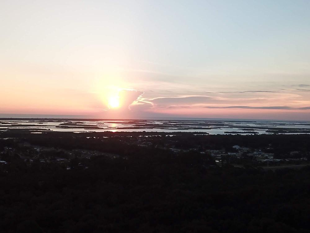 Sunrise|Mosquito Lagoon|New Smyrna Beach|Florida