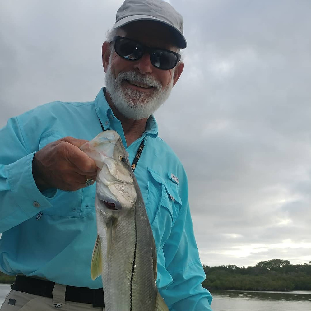 Captain John Tarr|Tailhunter Outdoor Adventures|Snook on Fly