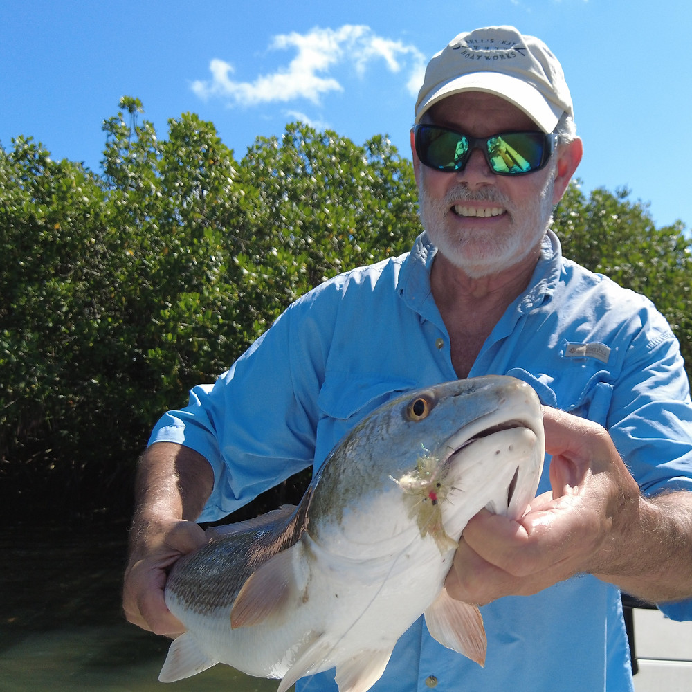 Captain John Tarr|Tailhunter Outdoor Adventures|Fishing Guide|Fishing Charter|Fly Fishing|Redfish on Fly|Florida