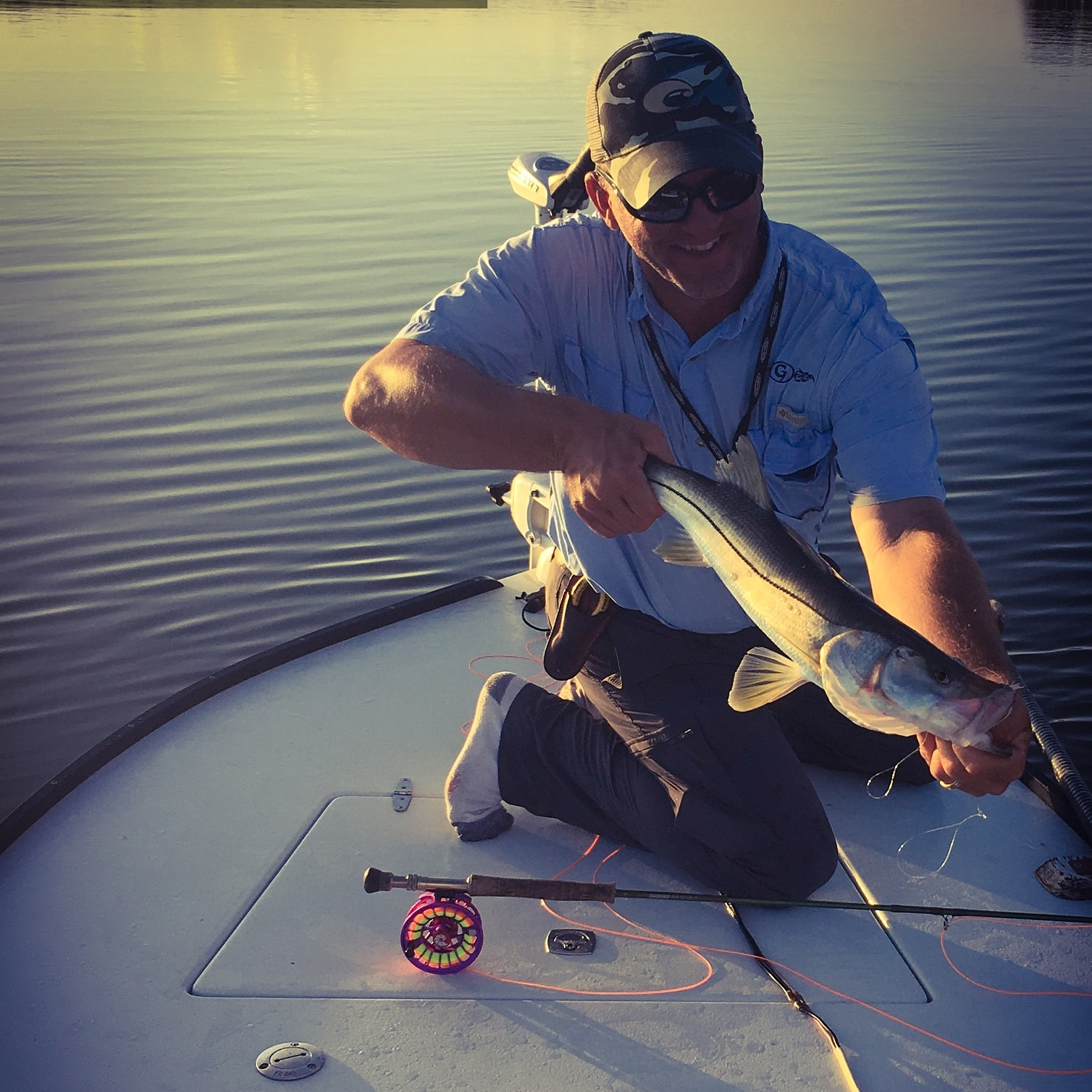 Captain John Tarr|Snook on Fly