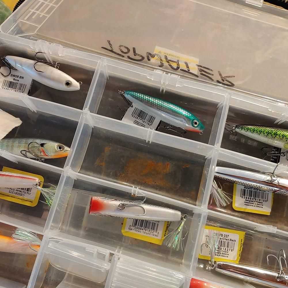 Captain John Tarr Tailhunter Outdoor Adventures Rapala Rapala Fishing Lures Snook Redfish Tarpon Bass Florida Fishing Guide Fishing Charters Fishing Report
