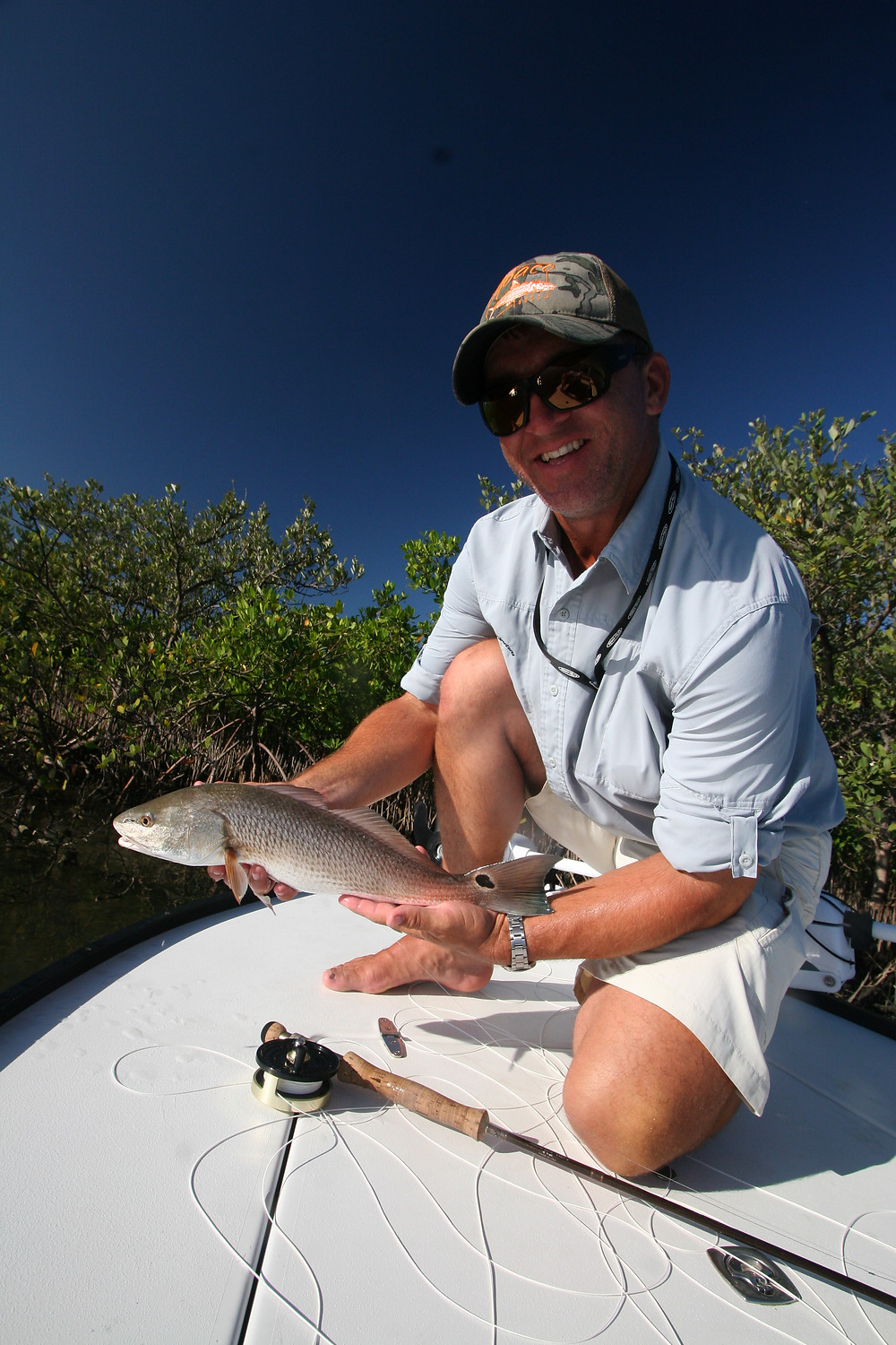 Captain John Tarr Fishing Charters|Tailhunter Outdoor Adventures|Florida|Redfish on Fly
