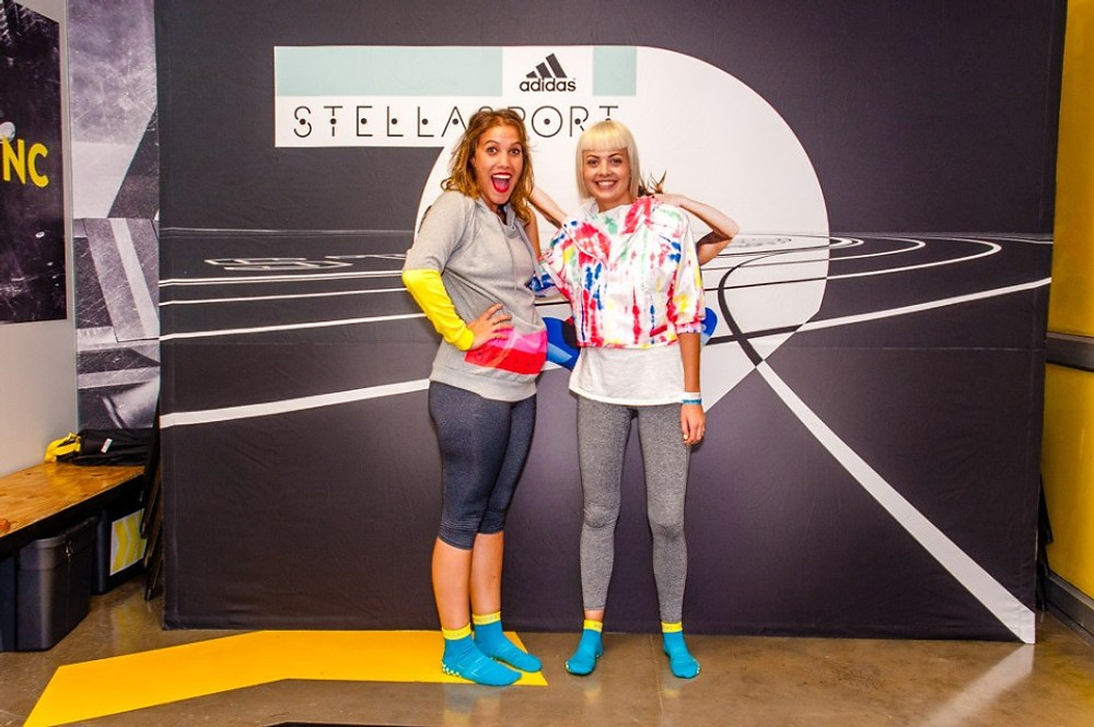 Lucy Sarah and adidas StellaSport