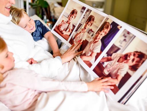 Why Photo Books Are Perfect for Snuggle Season!
