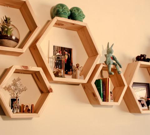B&K Hexagon Shelves