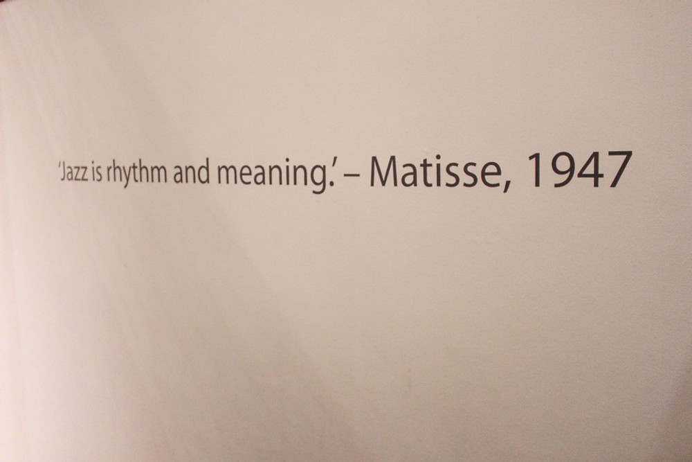 Matisse rhytmn and meaning and Lucy Sarah