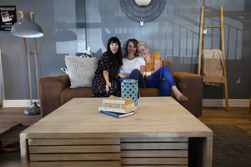 Lucy Sarah and the Coricraft Blogger Couch Challenge
