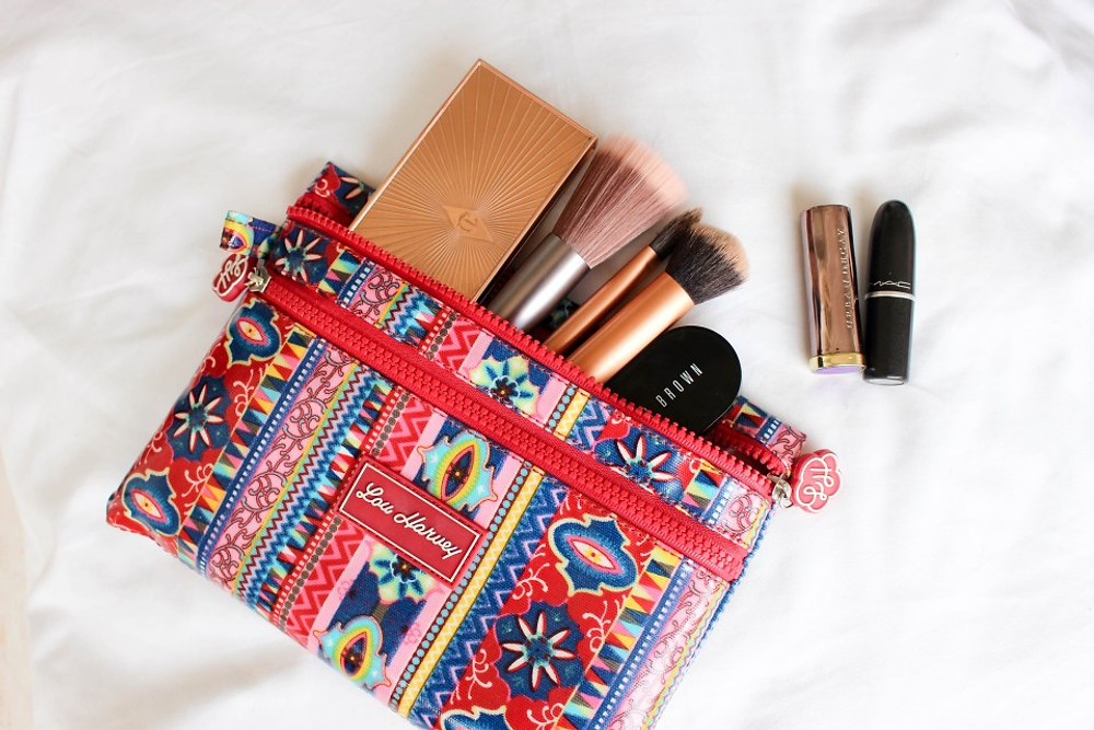 The Double Cosmetics Bag