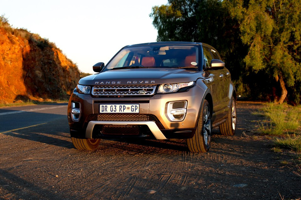 Range Rover Evoque and Lucy Sarah