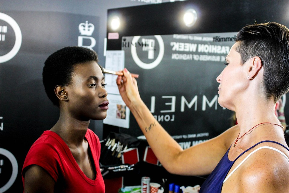 Lucy Sarah Heart & Heritage Backstage at SAFW