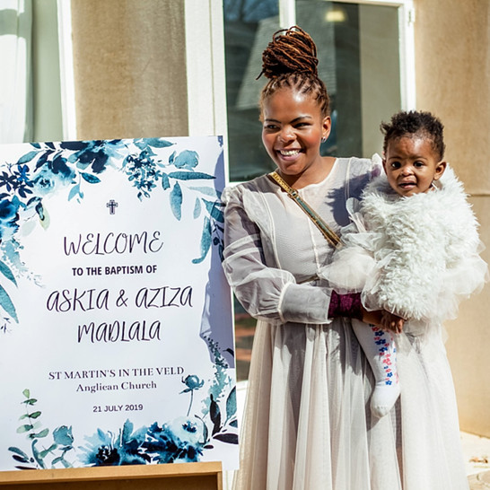 A Special Baptism for Askia and Aziza | Shot by RDP Team