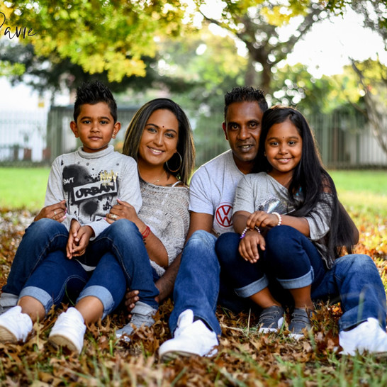 Pillay Family Session   Shot by Robyn