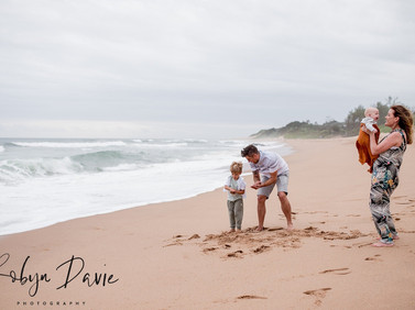 Beach Side Family Sessions