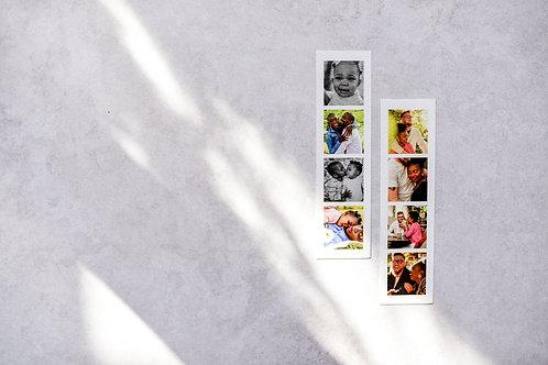 Custom Prints | Photo Strips | Set of Twelve
