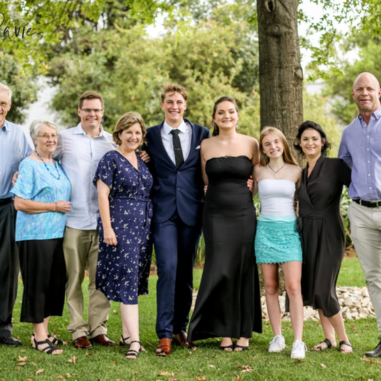 Daniel's Pre-Matric Dance Family Session | Shot by the RDP Team