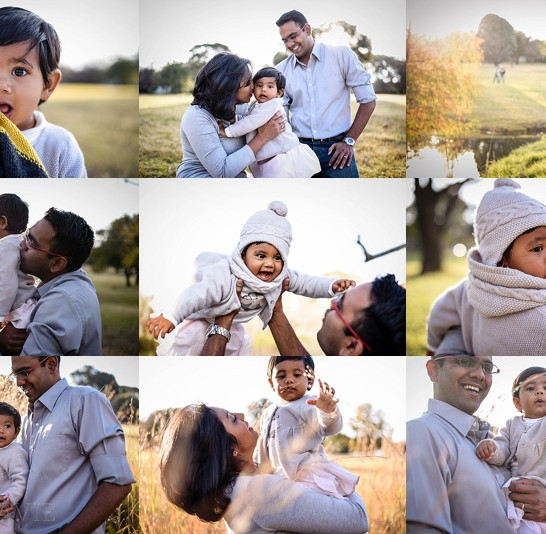 All Dressed in Grey - A Winter Wonderland Family Shoot