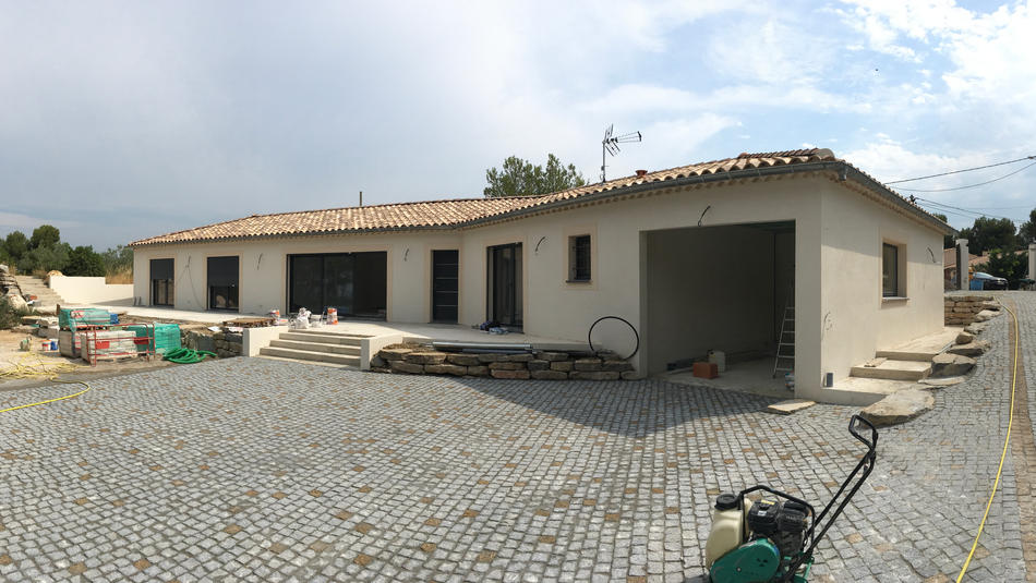 Villa pavé