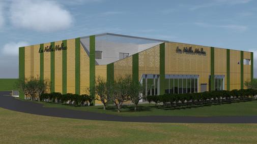Centre commercial bio climatique