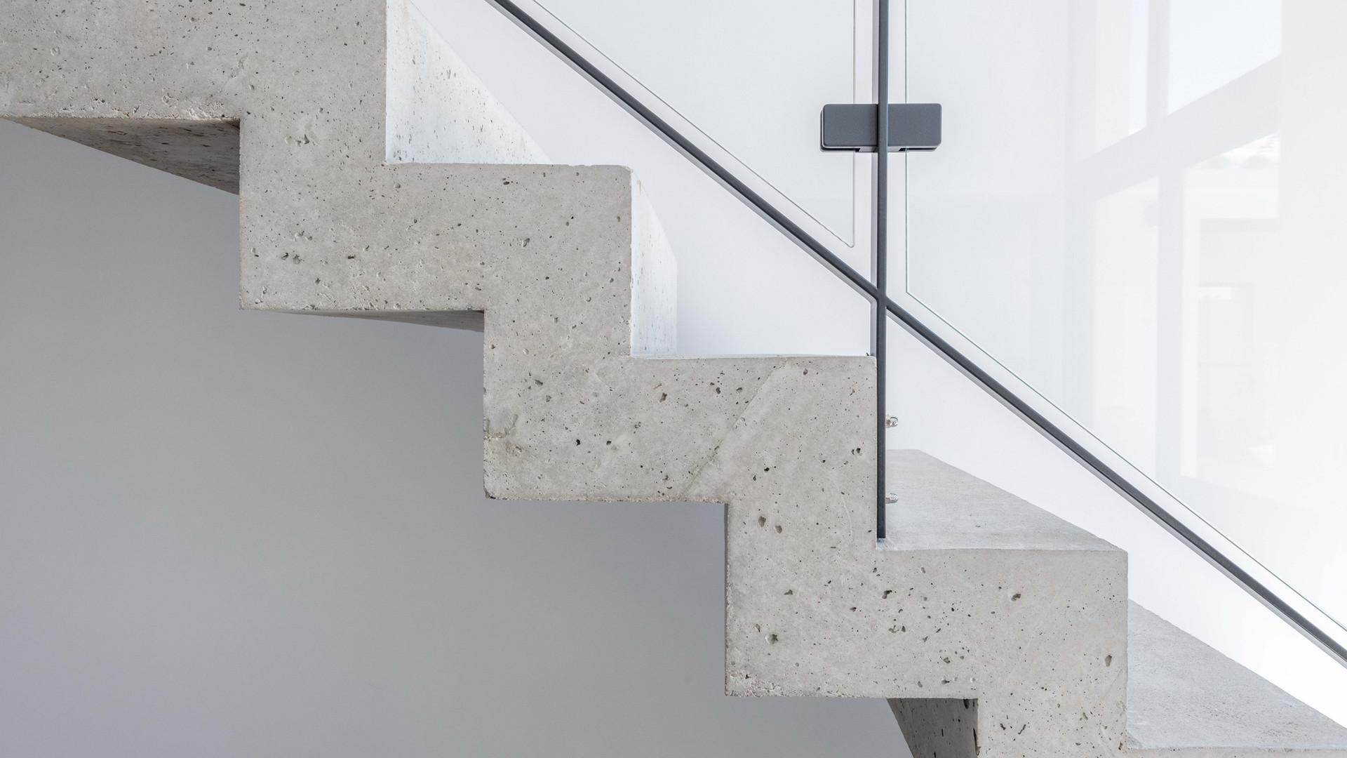 Escalier contemporain Eguilles